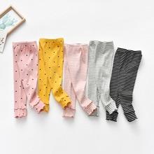 На весну для девочек, на возраст от 12 мес. до 6 лет леггинсы брюки детские, Костюмы прямого покроя для маленьких девочек дети Вязание брюки для девочек 5 цветов, леггинсы