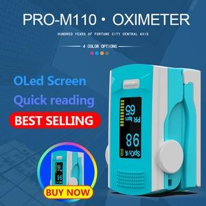 Image 3 - PR+MISE finger pulse oximeter OLED ABS metrial heart rate monitor