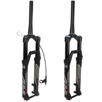 Front fork of mountain bicycle 26 27.5 29 inch cross country shock absorber air fork front fork of vertebral canal barrel axle