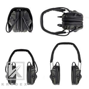 Image 3 - Casque tactique KRYDEX avec Micphone Peltor réduction du bruit détachable prise de son Communication casque électronique MCBK