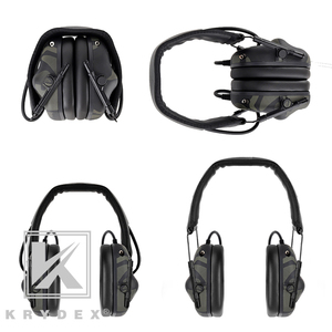 Image 3 - KRYDEX Tactical Headset With Micphone Peltor Detachable Noise Reduction Sound Pick Up Communication Electronic Headphone MCBK
