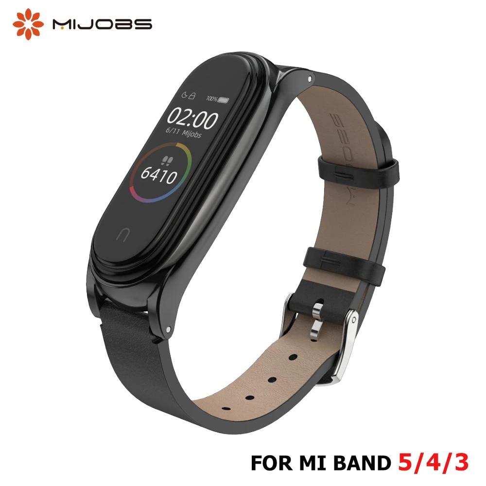 For Mi Band 6 5 4 3 Strap Leather Correas Mi Bend 4 Silicone Miband Bracelet Mi Band 3 6 For Xiaomi Smart Band Xaomi Wristband Smart Accessories Aliexpress