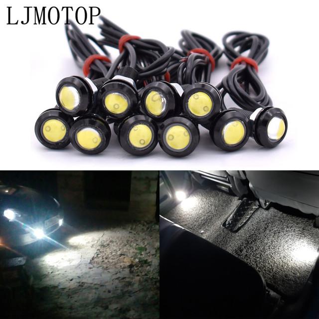 For Honda CRF230F XR 250 400 125 230 CRM250R CRF250L Eagle Eye LED Reverse Backup Light Daytime Running Signal Motorcycl Lamp