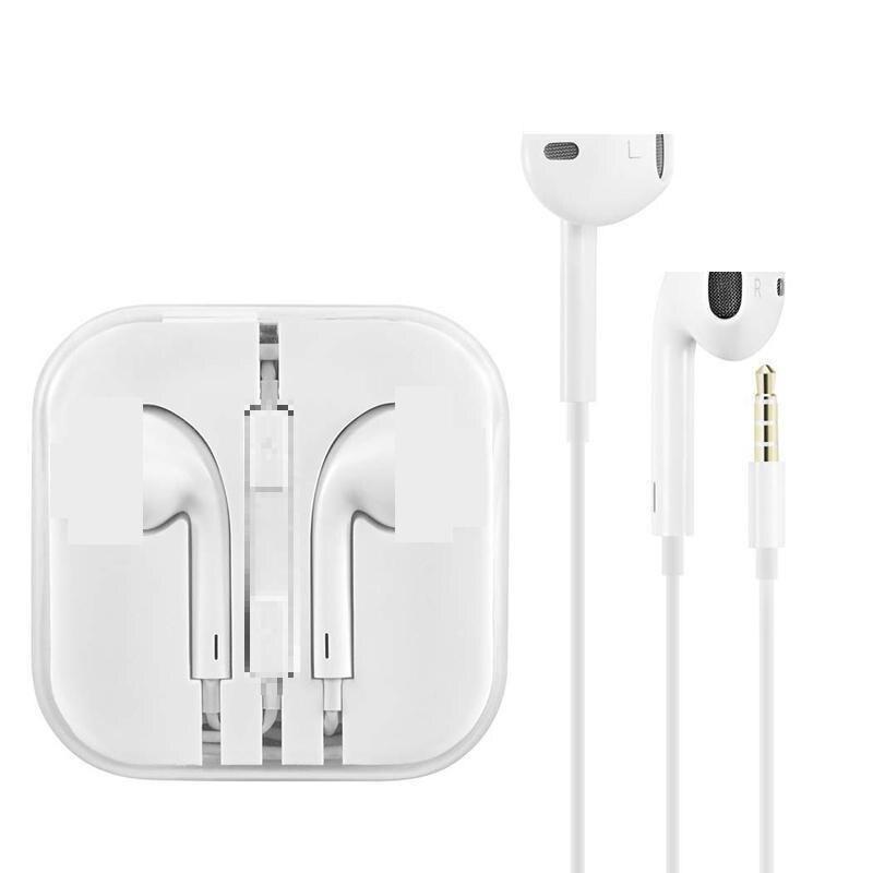 Универсальные спортивные наушники 3,5 мм, проводные наушники-вкладыши, стерео наушники с микрофоном для samsung huawei Xiaomi iPhone 6