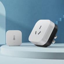 Aqara p3 companheiro de ar condicionado com temperatura e umidade sensorgateway hub zigbee wifi para xiaomi mihome apple homekit