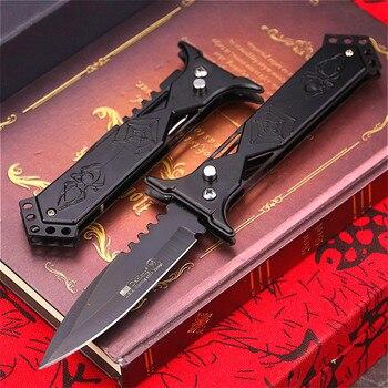 PEGASI PEGASI U.S classic 7CR18MOV steel S outdoor folding knife portable quick open sharp outdoor rescue folding knife EDC tool 2