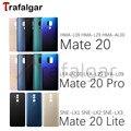 Задняя крышка батарейного отсека для Huawei Mate 20 Lite, стеклянная задняя панель Mate20, дверной чехол для Huawei Mate 20 Pro, Задняя стеклянная крышка