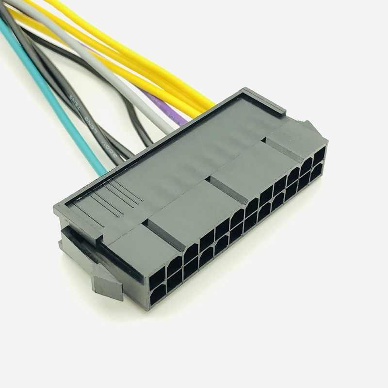 24 Pin do 8 Pin kabel adapter atx psu kompatybilny z DELL Optiplex 3020 7020 9020 precyzja T1700 12-cal (30 cm) do Dell