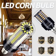Ampoule épis de maïs E27 E14 pour lustre, lumière de bougie LED pour salon, aucun scintillement, 110V lampes LED V 220 W 5W 7W 9W 12W 15W 20W