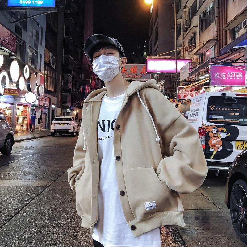 Homme manteau veste Jaqueta Masculina hiver militaire lui-même Hoodies Sportswear Streetwear Gym Harajuku Hip Hop vêtements chauds