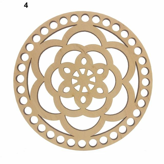 Crochet basket base Wood base Wooden bottom for knitting Base Oval 20x25cm7.87x9.84in Wooden bottoms for crochet basket