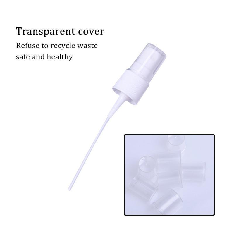 1 Pc Mini Plastic Sprayer White Balck 30/50/100 Ml Small Empty Spray Bottle For Flower Watering Refillable Bottle Garden Sprayer-4
