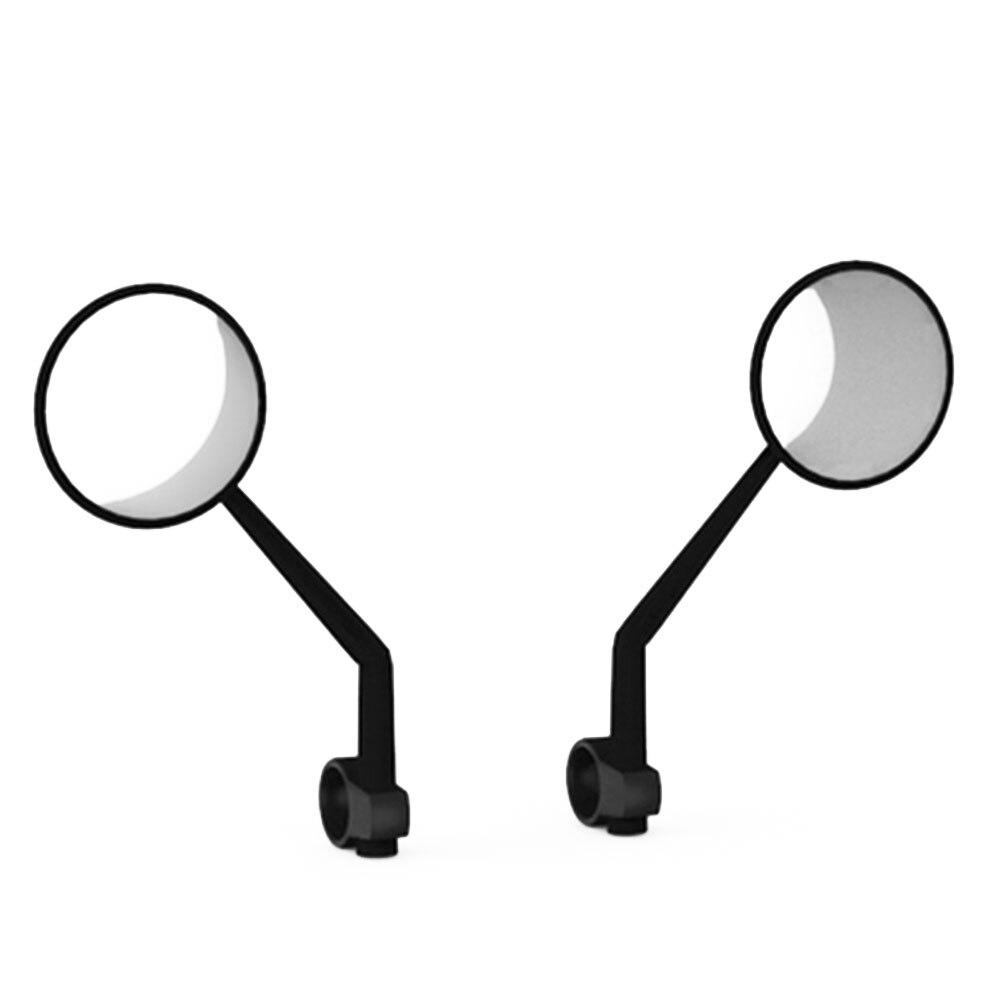Стальной электрический скутер часть зеркало заднего вида Замена вращающийся Практичная ручка крепление безопасности прямая посадка для