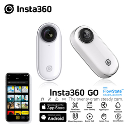 Insta360 GO New Action Camera AI Auto Editing Hands-free Insta 360 Go Smallest Stabilized Camera For iPhone & Android