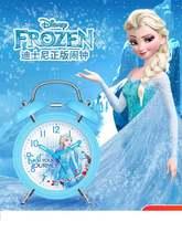 Оригинальные маленькие часы будильник disney frozen для женщин