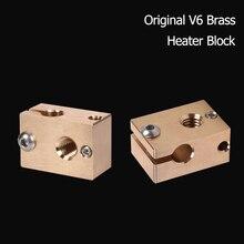 3d-Printer-Parts Heater-Block Cartridges Extruder-Sensor Titan V6 Nozzle PT100 E3d Hotend