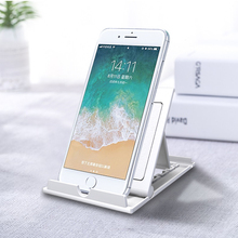 цены Universal Table Cell Phone Support holder For Phone Desktop Stand For Ipad Samsung iPhone X XS Max Mobile Phone Holder Mount