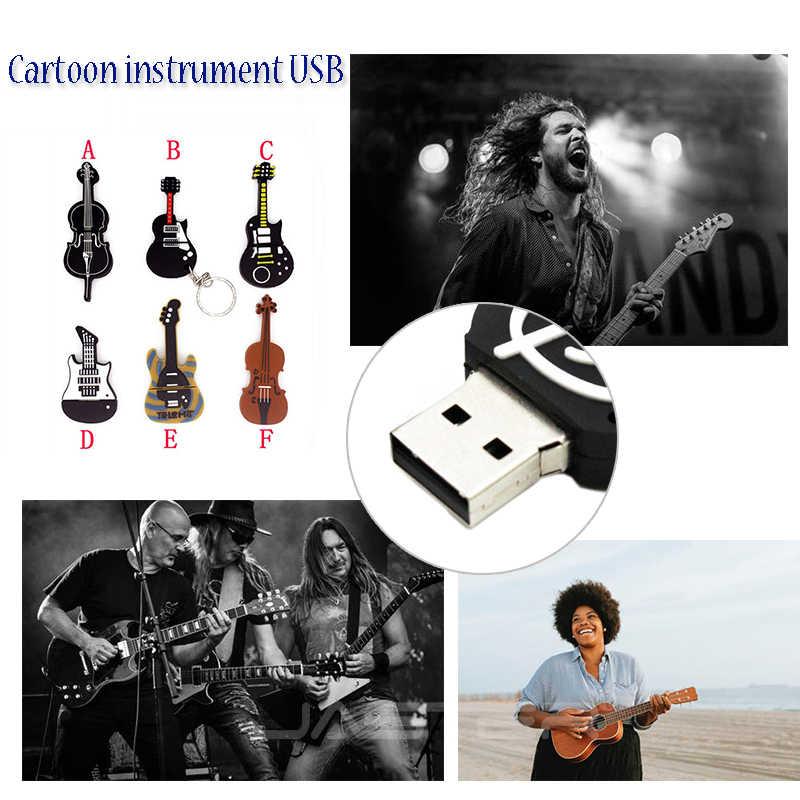 JASTER القدرة الحقيقية 8 نمط Instrumenty muzyczne Modelu بندريف 4 gb 16 gb 32 gb 64 gb محرك فلاش usb skrzypce/ البيانو/gitara