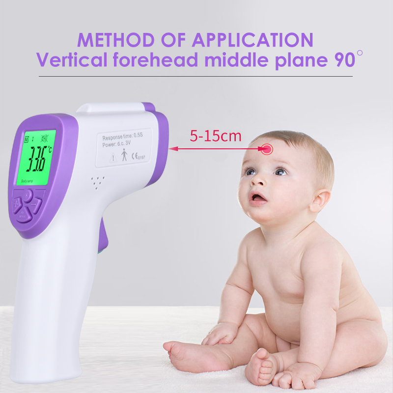 New Generation Of Medical Electronic Digital Infrared Thermometer Gun, Neonatal Adult Fever Thermometer, Human Thermometer