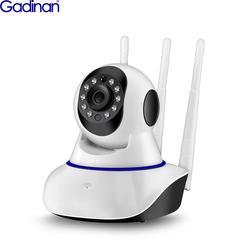Камера видеонаблюдения Gadinan с автоматическим отслеживанием, 1080P, Wi-Fi, PTZ, IP, беспроводная, для дома, с ночным видением, Радионяня