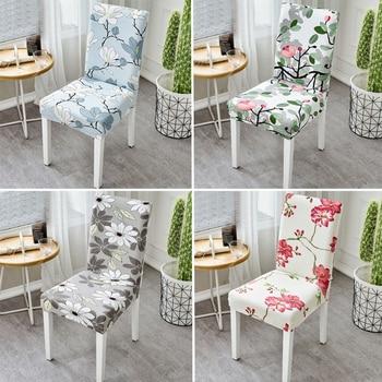 Floral printing elastic stretch ch