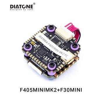 Diatone Mamba F405 MINI MK2 F30MINI 30A 3-5S ESC Flight Controller Stack/Power Tower F4 FC for FPV Drone RC Quadcopter