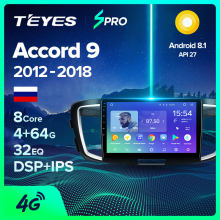 Teyes Spro Voor Honda Accord 9 Cr 2012 2013 2014 2015 2016 2017 2018 Auto Radio Multimedia Video Player Navigatie gps Android(China)