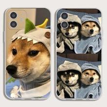 3D Cute Dog Case for IPhone 11 12 Pro Max 12 Mini Cases IPhone XR XS X 7 8 6 Plus
