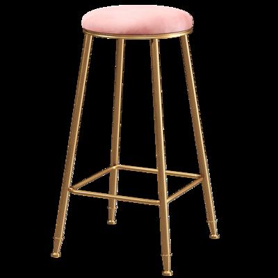 Nordic Modern Household Leisure Bar, Chair, Stool, Coffee Restaurant, Bar, Simple Light Luxury High Chair, Front Desk Stool