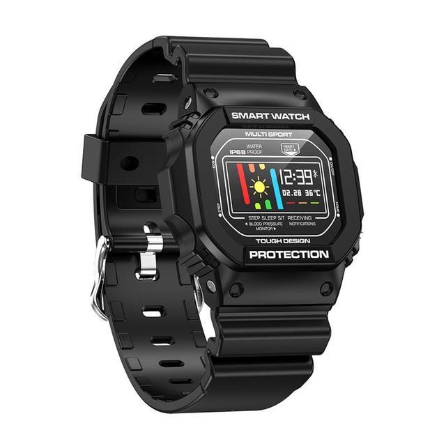 Fasion Smartwatch X12 Smart Watch Support Men Women Wristwatch Tracker Heart Rate Monitor for Swimming ECG PPG