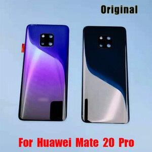 Image 5 - Ban Đầu Cho Huawei Mate 20 Pin Mate20 Pro Lưng Dán Kính Cường Lực Cho Huawei Mate20 Phía Sau Cửa Nhà Ở Lưng ống Kính Máy Ảnh