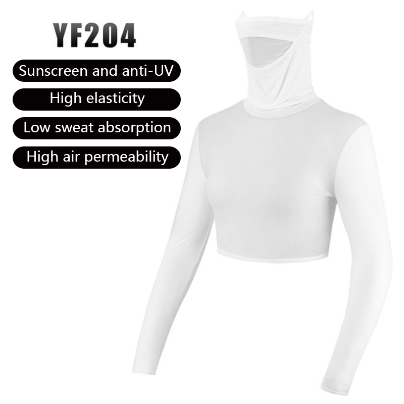 PGM Womens Anti-UV Shirts Half-length Long Sleeve Summer Sunscreen Golf Bingsi Underwear Outdoor Sports Apparel MJ 3