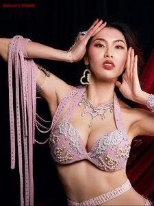 Image 4 - Frauen Bauchtanz Kostüm Leistung Kostüme Orientalischen Indischen Tanz Röcke Praxis Kleidung Handgemachten Custom Bühne Tragen