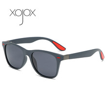 XojoX Classic Fashion Square Polarized Sunglasses Man Women