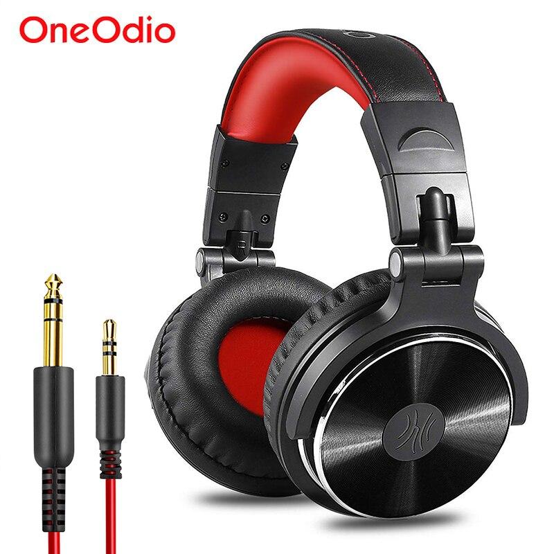 Oneodio DJ Headset Gaming With Microphone Phone PC Wired Over-ear Hifi Studio DJ Headphone Professional Stereo Monitor Urbanfun