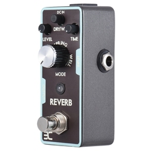 лучшая цена Eno Reverb Guitar Effect Pedal Reverb Guitar Pedal True Bypass Guitar Parts & Accessories