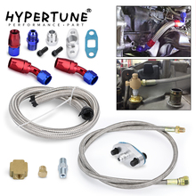 Drain-Line-Kit Turbo-Oil T3/T4 Hypertune Blue T70 And TO4E HT-TOL21 Red T66