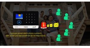 Image 5 - 2020 nuovo FUERS WIFI Senza Fili di GSM di Sicurezza Domestica Sistema di Allarme APP di Controllo Sirena RFID Rilevatore di Movimento PIR Sensore di Fumo FAI DA TE kit