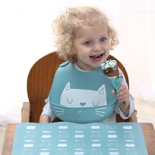 Waterproof Baby Bibs Silicone Cartoon Feeding Baby Saliva Towel Newborn Baby Aprons Adjustable Food Bib for 0-5T(China)