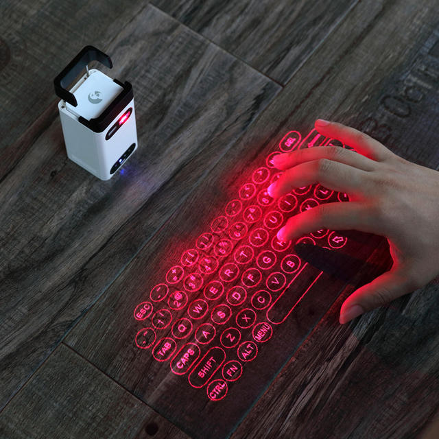 Virtual Bluetooth Laser Keyboard Wireless Projector for Computer Iphone Pad Laptop with Mouse Function
