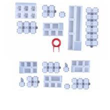 Keycap molda o jogo do silicone, moldes feitos à mão da resina de cristal para tampões chaves dos teclados do jogo
