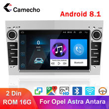 Camecho 2 Din Car Radio Multimedia Player For Astra Antara Vectra Corsa Zafira Meriva vivara Vivaro Combo Signum Tigra Twin Top