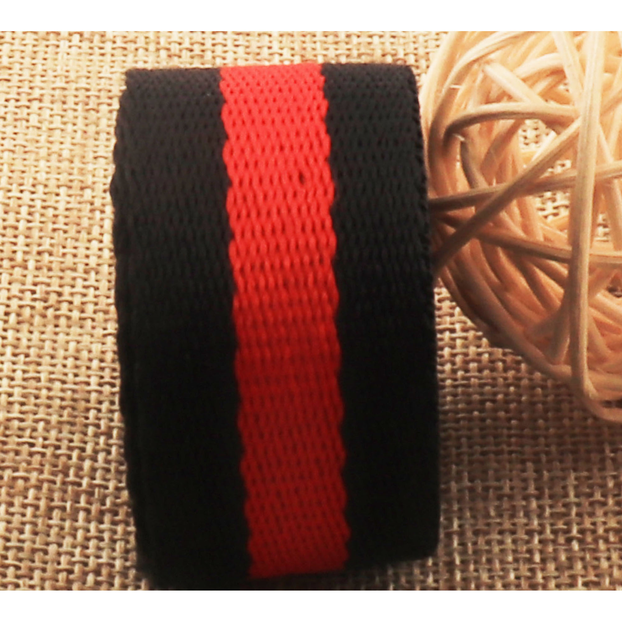 WB535 Natural Soft Cotton Webbing,One Inch Key Fob Webbing leash supplies,bag handle Bag Purse Webbing By The Yard