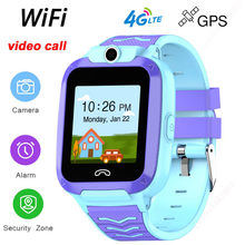 2020 new 4G Kids Smart Watch Video Call IP67 Waterproof WIFI Smartwatch Camera with gps Tracker sim card for boy child andriod(China)