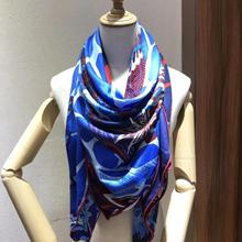 2020 new arrival autumn spring classic design 140*140 cm animal scarf 65% cashme