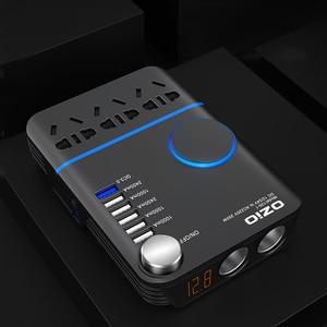 Image 5 - 200W Car Power Cigarette Lighter Inverter DC 12V To AC 220V Converter Charger Adapter Transformer Lighter Socket USB Output