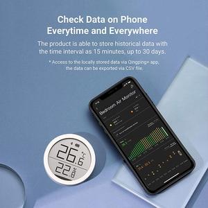 Image 3 - Qingping Bt Thermometer Hygrometer Temperatuur En Vochtigheid Sensor Segment Code Lcd scherm Lite Edition Werken Met Mijia App