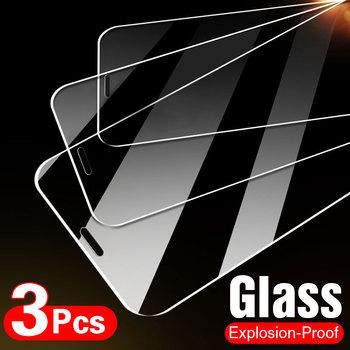 10D 3 sztuk szkło hartowane dla iPhone 7 8 6 6s Plus 5S SE osłona ekranu dla iPhone X XS XR 11 12 Pro Max szkło ochronne tanie i dobre opinie UNMYER Przezroczysty CN (pochodzenie) APPLE Folia na przód Glass on iPhone 5 5S SE Glass on iPhone 6 Glass on iPhone 6S