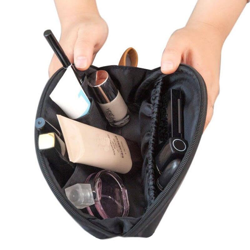 Women Fashion Samll Cosmetic Bag Travel Zipper Make Up Makeup Case Organizer Beauty Mini Wash Portable Storage Toiletry Kit Box