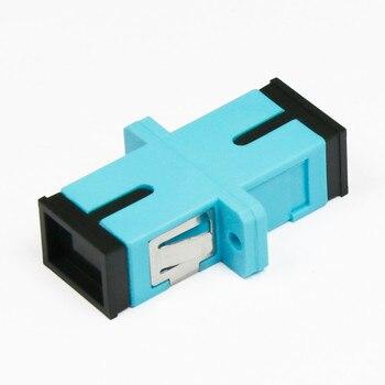 SC Simplex Fiber optic adapter OM3 fiber connector SC SM Flange Singlemode Simplex SC-SC connector sc